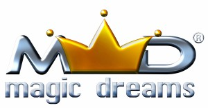 Magic Dreams Chrome Logo